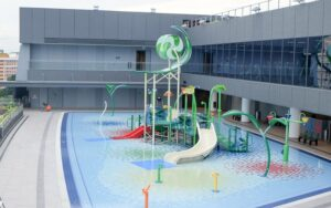 Swimming Lessons in Tampines Swimming Complex(Our Tampines Hub)
